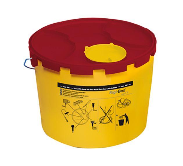 slide image Kanülen-Entsorgungsbox Multi-Safe medi 6